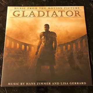 Gladiator soundtrack. Vinyl Lp. New
