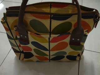 Orla Kiely Handle Bag