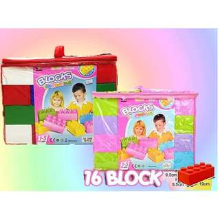 16PCS BLOCKS IMMAGINATION