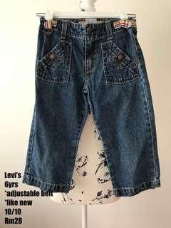Markdown❗️Levi's Jeans (US) Girl 6yrs