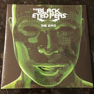 The Black Eyed Peas - The E N D . Vinyl Lp. New