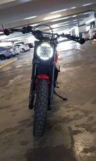 Ducati Scrambler Icon 800cc (12k+ km)