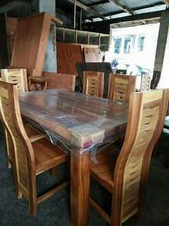 mahogany dining set