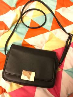 H&m mini black crossbody bag