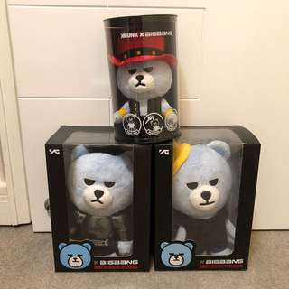 包郵!Big Bang Krunk bear Taeyang