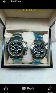 Rolex couple watch high replica