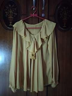 Baju warna mustard