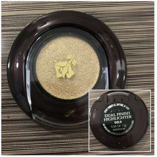 Lancome dual finish highlighter GOLD