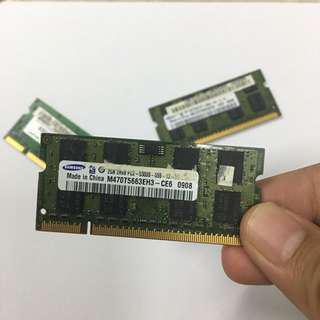 Samsung DDR2 2GB x3