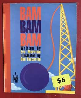 Bam bam bam children's book
