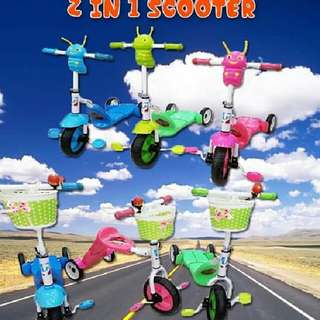 2 IN 1 SCOOTER