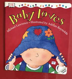 Baby loves toddler book