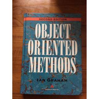Object Oriented Methods by Ian Graham