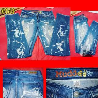 Mudd Ripped / Tattered Jeans
