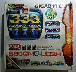 GIGABYTE 880GMA-UD2H