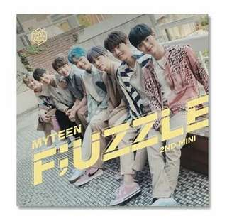[PRE] Myteen - 2nd mini album (F;UZZLE)