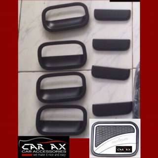 Toyota Wigo Door handle and gas tank covers