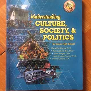 understanding culture, society & politics book