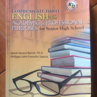 english for academic & professional purposes book