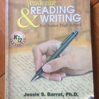 academic reading & writing book