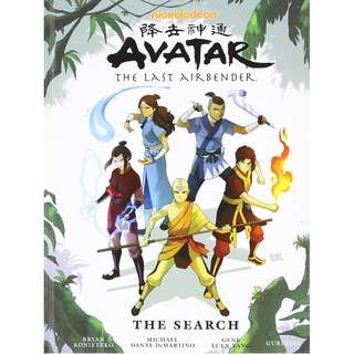 🚚 Avatar: The Last Airbender The Search Library Edition [Hardcover]