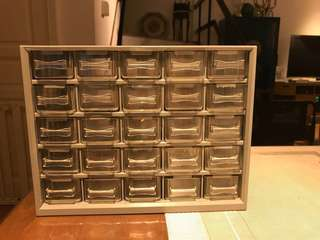 Organizer for small parts and trinkets