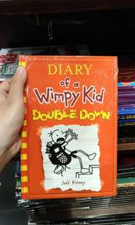 [ BUKU IMPORT MURAH ] Diary of a Wimpy Kid : Double Down (Hard Cover)