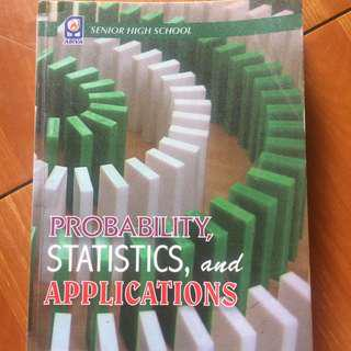 probability, statistics, and applications book