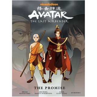 🚚 Avatar: The Last Airbender The Promise Library Edition [Hardcover]