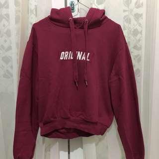 Crop hoodie H&M