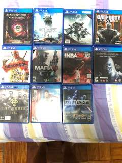 PS4 GAME , BUNDLE , PACKAGE