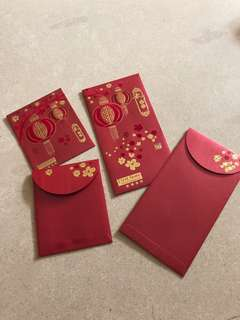 🚚 Collectible red packets (velvet finish) in gift box