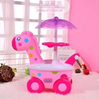 Ready Stock Mini Candy Cart Ice Cream Pretend Play Children's Toys