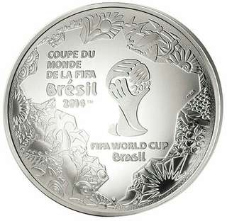 FIFA 2014 World Cup in Brazil-10 € SILVER PROOF COIN
