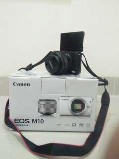 Jual cepat Canon EOS M10 Kit 15-45mm IS STM