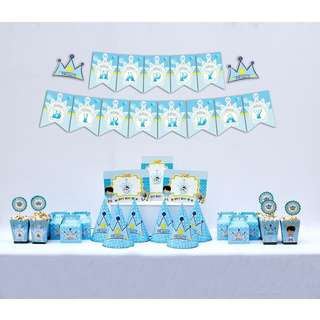 6 Pax Prince Charming birthday party set