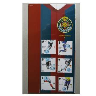 GB UK 英國 - 2006 WORLD CUP WINNERS 世界盃  Presentation Pack 384 MNH