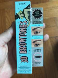 New! 3D Browtones 6ml Benefit color 4