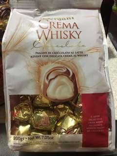 Vergani Crema Whisky Chocolate