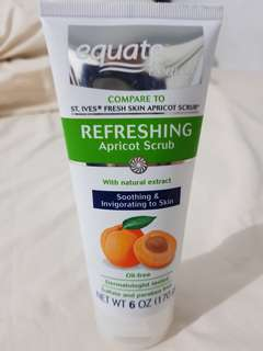 Equate Apricot Scrub