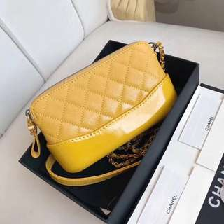 Chanel Gabrielle double zipper