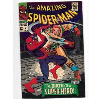 🚚 Amazing Spider-man Vol. 1 #42 - 1st full appearance of Mary Jane Watson