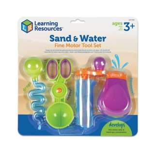 IN STOCK: Learning Resources Sand & Water Fine Motor Set, 4 Pieces