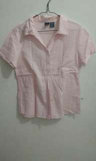 PINK TOP BY BASIC EDITIONS