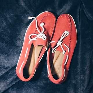 Topsider Ralph Lauren (Red)