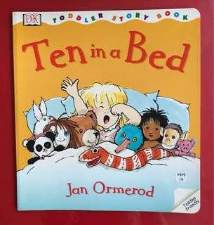 Ten in a bed children's book