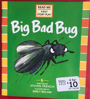 Big bad bug children's book