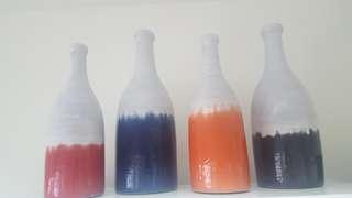 Hand made ceramic vase from pampanga