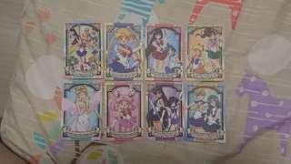 Memo信紙 8小張 美少女戰士 (不含閃卡)