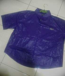 藍紫襯衫上衣